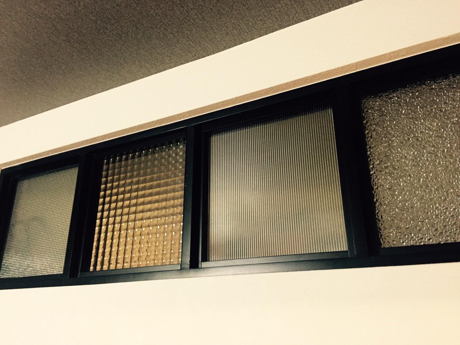 デザインガラス・小窓