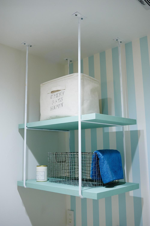 洗面 吊り棚