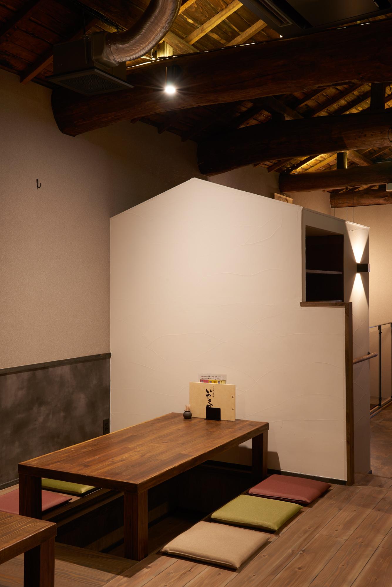 小屋型スタッフルーム